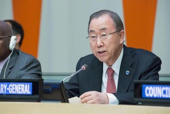 Secretary-General Ban Ki-moon addresses event marking the 60th anniversary of the establishment of the European Organization for Nuclear Research (CERN).
