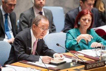 Ban Ki-moon. Foto: ONU-Rick Bajornas