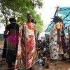 Asistencia a desplazados en Sudán del Sur. Foto de archivo: ONU/JC McIlwaine