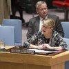 Ellen Margrethe Løj. Foto: ONU/Eskinder Debebe