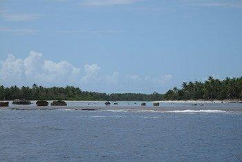 Заповедник на острове Феникс - одном из осторов государства Кирибати