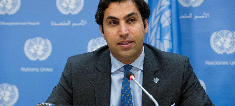 Secretary-General's Envoy on Youth Ahmad Alhendawi.