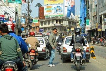 Escena en Katmandú, Nepal. Foto: Banco Mundial/Simone D. McCourtie