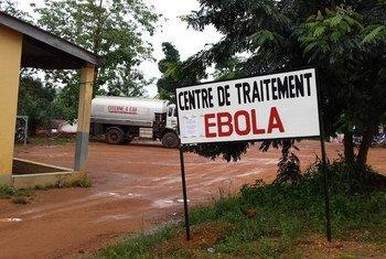 Centro de cuidados médicos en Guéckédou, Guinea. Foto: UNICEF/Suzanne Beukes