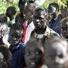 wakimbizi wakiwa katika kambi ya Kakuma ,Kenya.