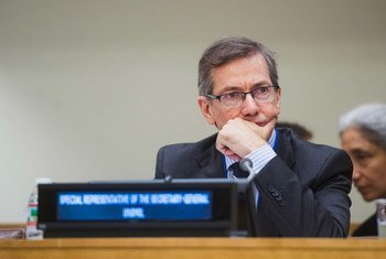 Head of the UN Support Mission in Libya (UNSMIL), Bernardino Léon.