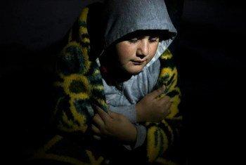 Niño víctima de la violencia en la región de Kurdistán en Iraq.  Foto de archivo: ACNUR/D. Nah
