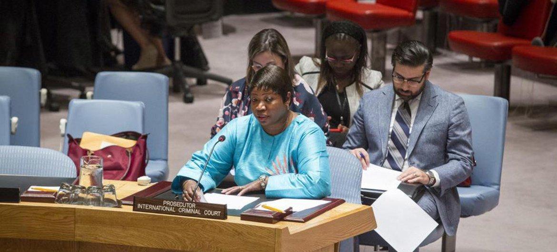 Prosecutor of the International Criminal Court (ICC) Fatou Bensouda.