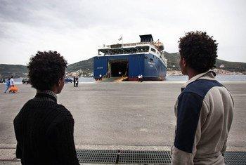Cada vez más eritreos buscan refugio en Europa. Foto: ACNUR / A. DAmato