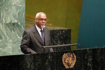Judge Patrick Lipton Robinson of Jamaica.