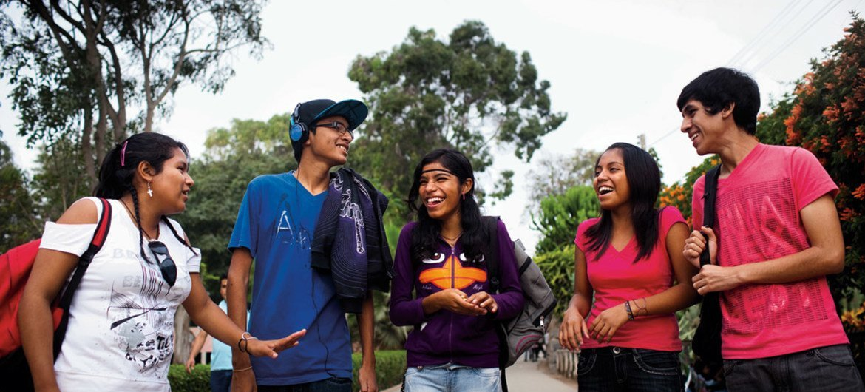 Youth in Peru.