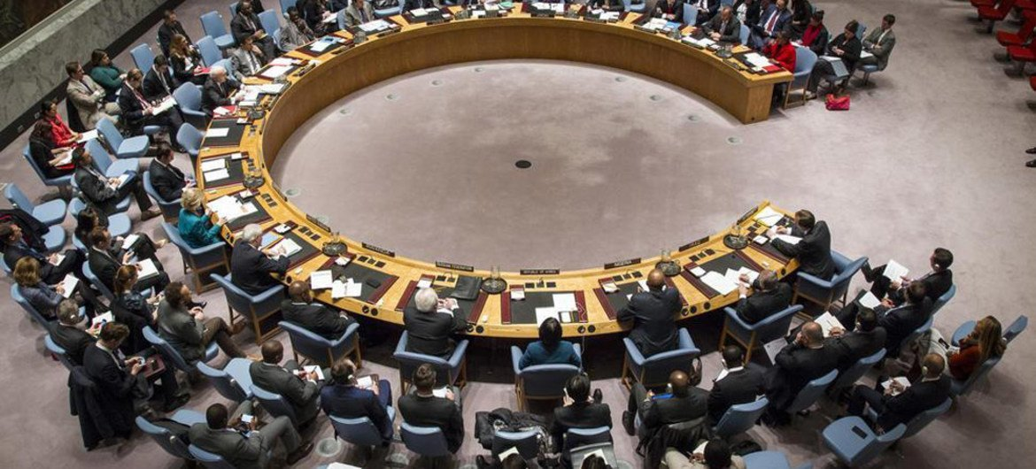 Security Council meets on the situation in Iraq.