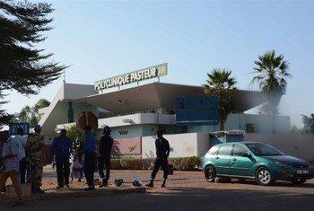 Une clinique dans la capitale du Mali, Bamako (photo archives)