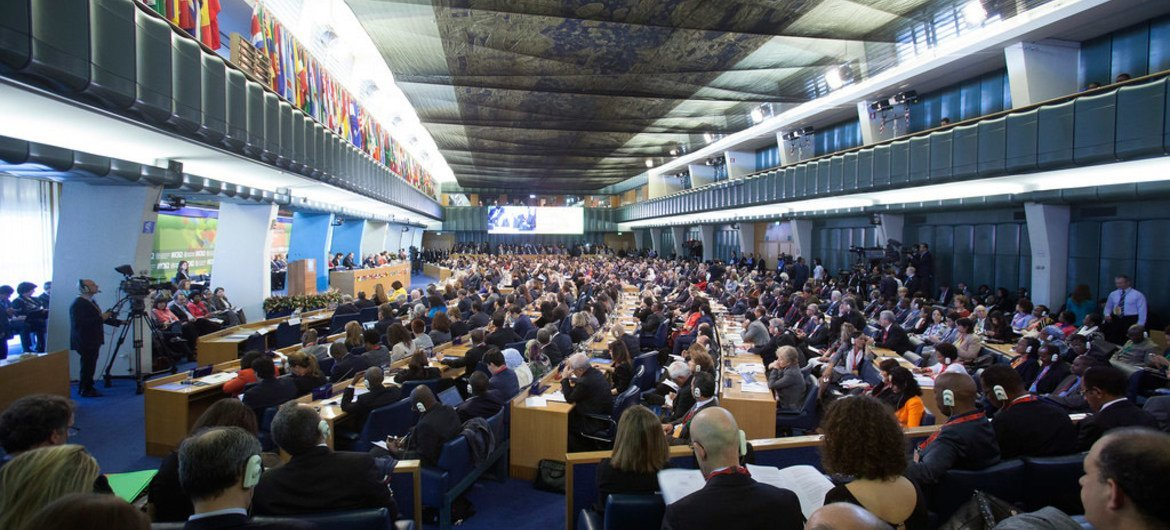 Opening Ceremony of the Second International Conference on Nutrition (ICN2), at FAO Headquarters in Rome, Italy.
