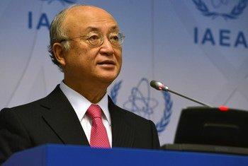 Le Directeur général de l'Agence internationale de l'énergie atomique (AIEA), Yukiya Amano. Photo : AIEA/Dean Calma