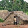 IDP camp in Zémio, Haut Mbomou, Central African Republic (CAR).