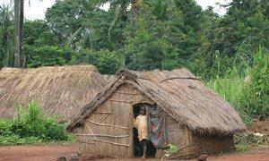 Un camp de personnes déplacées à Zémio, dans la préfecture de Haut Mbomou, en République centrafricaine (archive).