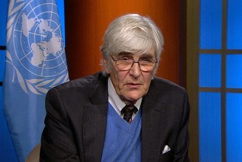Edward Mortimer, speechwriter, policy advisor and Director of Communications to former UN Secretary-General Kofi Annan.