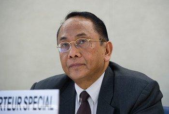 Makarim Wibisono, relator espeicial sobre los derechos humanos en los territorios palestinos ocupados. Foto: ONU/Violaine Martin