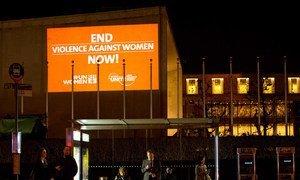 Campaña de la ONU para acabar con la violencia contra la mujer. Foto: ONU Mujeres/Ryan Brown