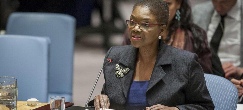 Valerie Amos en el Consejo de Seguridad. Foto de archivo: ONU/Loey Felipe