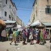 A street scene in Mogadishu, the Somali capital.