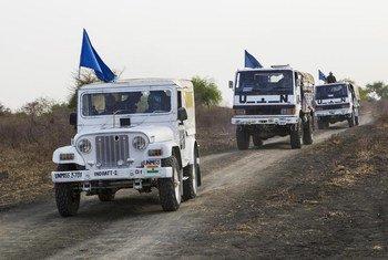 Миротворцы Миссии ООН в Южном Судане (МООНЮС).  Фото ООН/ Мартин Перрет