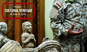Protecting cultural heritage of Iraq and Syria.