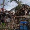 El huracán Patricia sería comparable en magnitud al tifón Haiyan, que golpeó a Filipinas en 2013. Foto de archivo de estragos del Haiyan:  OCHA/Jennifer Bose