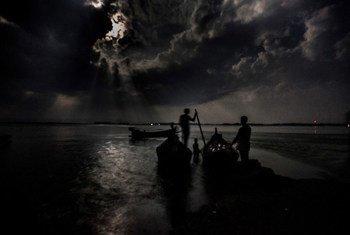 Migrantes en la Bahía de Bengala. Foto: ACNUR/S. Alam