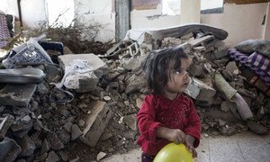 Nearly 400,000 children in Gaza are suffering from psychosocial distress as a result of the 50-day armed conflict in 2014.