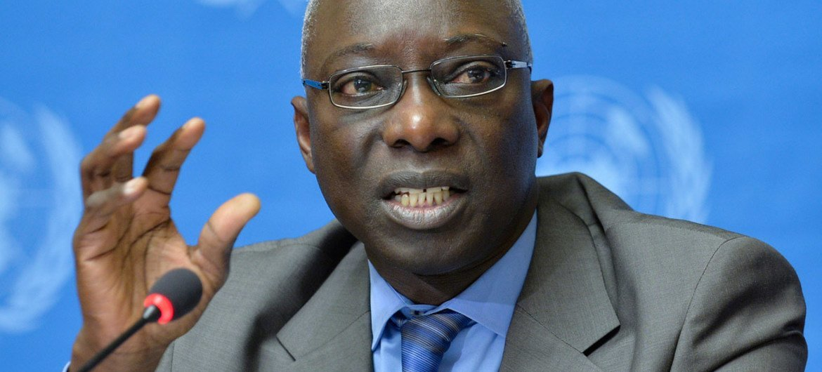 Special Advisor on the Prevention of Genocide Adama Dieng.