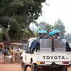 Cascos azules de la MINUSCA en Bangui. Foto de archivo: ONU/Catianne Tijerina