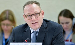 Special Rapporteur on the promotion and protection of human rights and fundamental freedoms while countering terrorism Ben Emmerson.