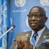 Le Conseiller spécial sur la prévention du génocide, Adama Dieng. Photo ONU/Amanda Voisard