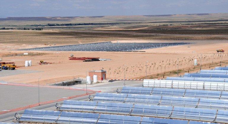 الطاقة المتجددة: محطة للطاقة الشمسية الحرارية
