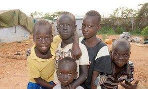 Children in South Sudan.
