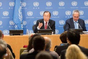Ban Ki-moon. Foto ONU/Mark Garten