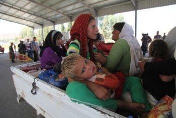 Alors que les besoins humanitaires en Irak augmentent, le financement de la réponse a été essentiel pour aider la population vulnérable. Depuis janvier 2014, le CERF a alloué environ 11 millions de dollars à l'appui des secours d'urgence en Irak. Photo : UNICEF/Khuzaie
