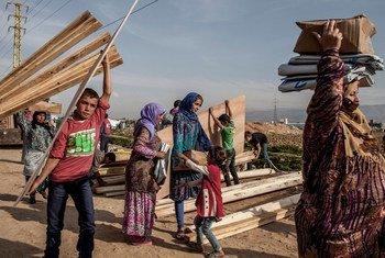 El 23% del total de refugiados asistidos por el ACNUR son de Siria. Foto  ACNUR/I. Prickett
