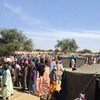 Población desplazada en Nigeria por la violencia de Boko Haram. Foto: Katy Thiam/OCHA