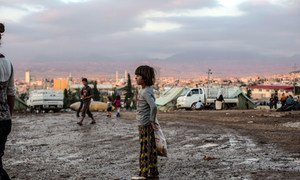 This child was among thousands of Iraqis who fled to the high-altitude region of northern Kurdistan during the winter of 2014 with nothing but the clothes on their backs, and found themselves entirely dependent on humanitarian agencies.