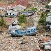Индонезийское побережье после цунами 2004 года
