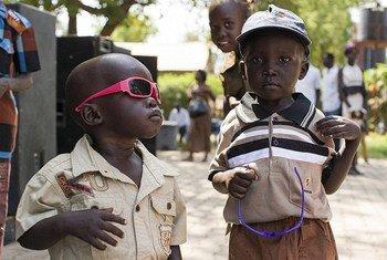 Children in Juba, South Sudan.