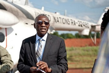 Head of the UN Multidimensional Integrated Stabilization Mission in the Central African Republic (MINUSCA), Babacar Gaye.