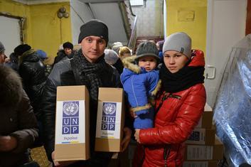 ПРООН помогает жителям Восточной Украины Фото ПРООН