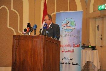 Le Représentant spécial adjoint en Iraq, Gyorgy Busztin. Photo MANUI