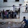 Niños sirios en Aleppo. Foto: UNICEF/Romenzi