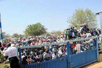 El número de civiles que huyen del conflicto en Sudán del Sur ya supera los 2 millones de personas. Foto: ONU/Hailemichael Gebrekrstos