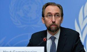 Le Haut-Commissaire des Nations Unies aux droits de l'homme, Zeid Ra'ad Al Hussein. Photo : ONU/Jean-Marc Ferré